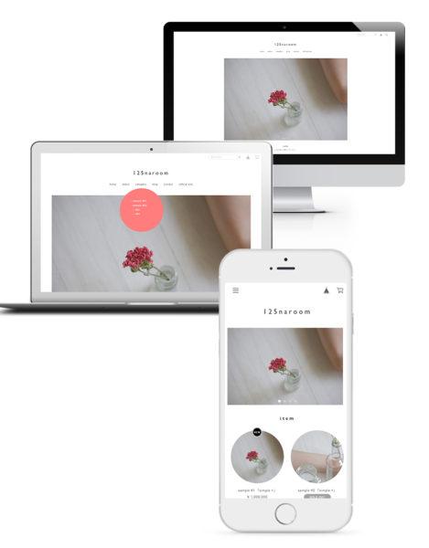 BASEデザインマーケットのテンプレート「simple + 」を作りました