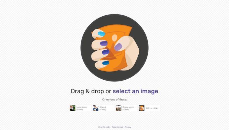 Googleさんの画像圧縮ツール「Squoosh」がいいですね